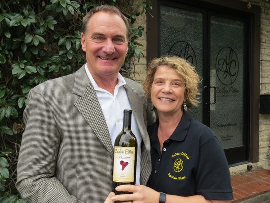 Dennis and Marliese Graham are the husband-and-wife owners of DeLiese Cellars, which has a tasting room in Thousand Oaks. It is one of seven Conejo Valley wineries participating in Wine N Roses, a pre-Valentine's Day promotion.