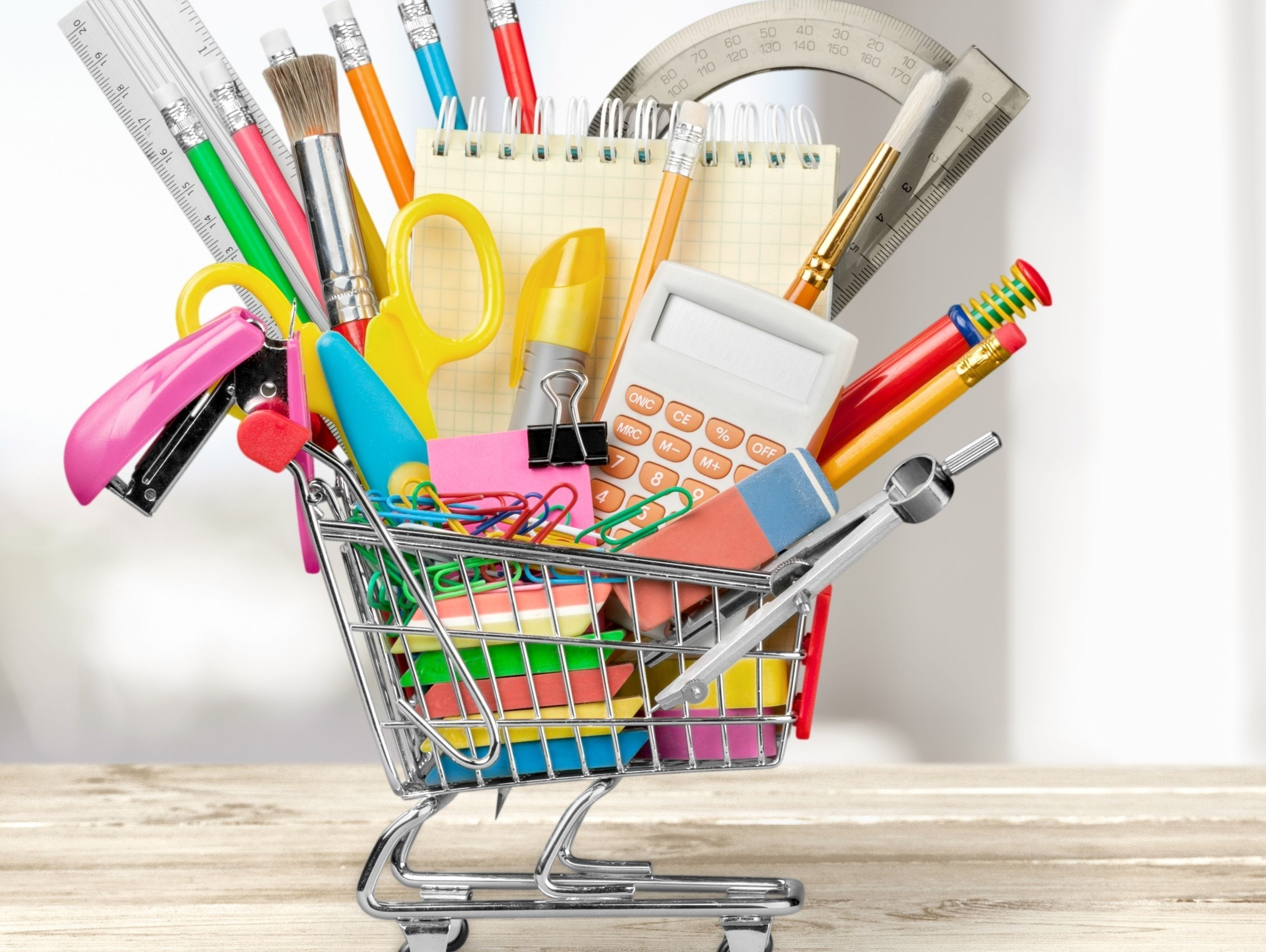 School supplies, clothing, shoes, lunches and so much more to get for back to school. Enter 8/8-8/23