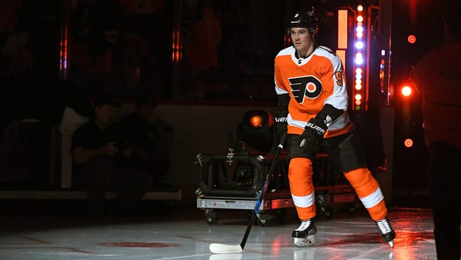 Ivan Provorov is the Flyers' leader in average ice time by more than three minutes per game. The 20-year-old defenseman seems to be able to handle anything they throw at him.