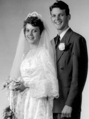 Metzger Wedding, July 18, 1946