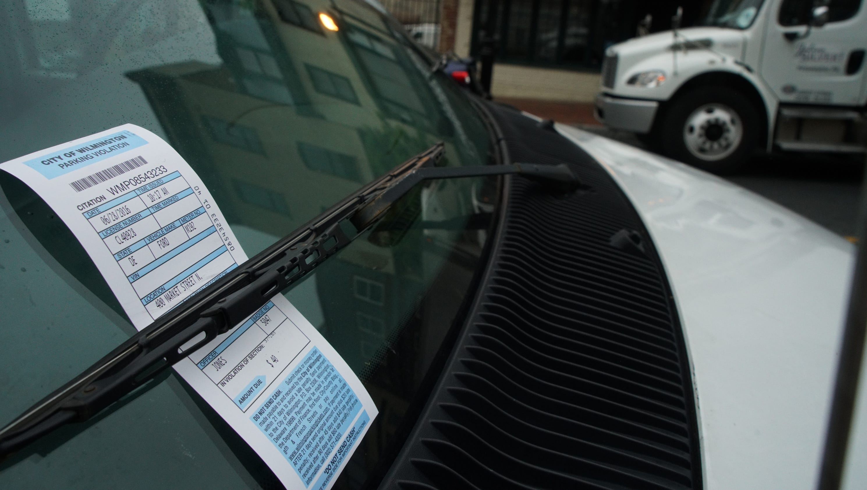 Parking Ticket After Selling Car