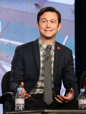 r Joseph Gordon-Levitt speaks onstage during the 'HITRECORD on TV' panel discussion at the Pivot portion of the 2014  Winter Television Critics Association tour in Pasadena, Calif.