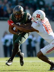 Michigan State running back Madre London hopes to earn