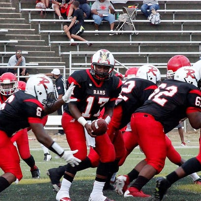 Richwood and Delhi meet in football action at the 2015