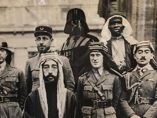 """Darth of Arabia — Arabian Envoy Host Guest of Honor"