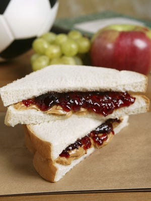 Thinkstock Peanut butter, jelly and bread are on sale at Bashas'. peanut butter and jelly