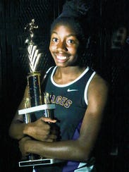 Burges track and field athlete Arielle Mack is headed