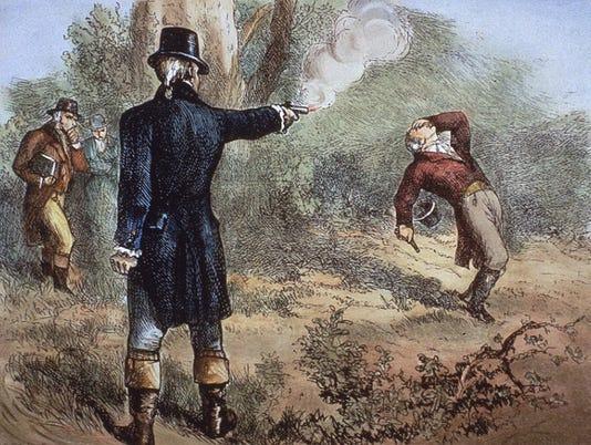 Hamilton-Burr duel