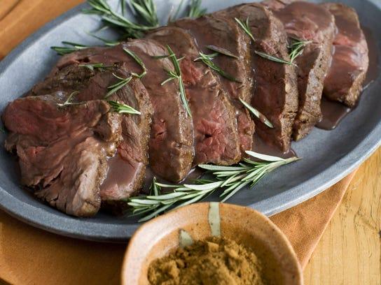 Holiday Roasts_Five Spice Beef Tenderloin