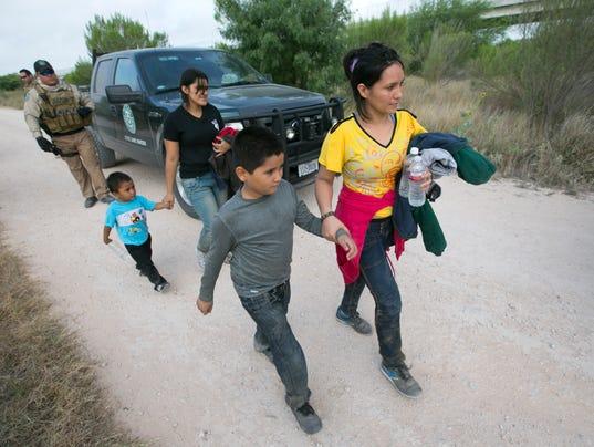 Central American migrants