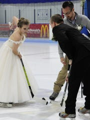 Courtney Harris and Alex Tarvainen start their married
