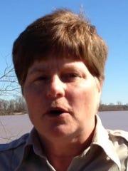USFWS ranger Terri Jacobson