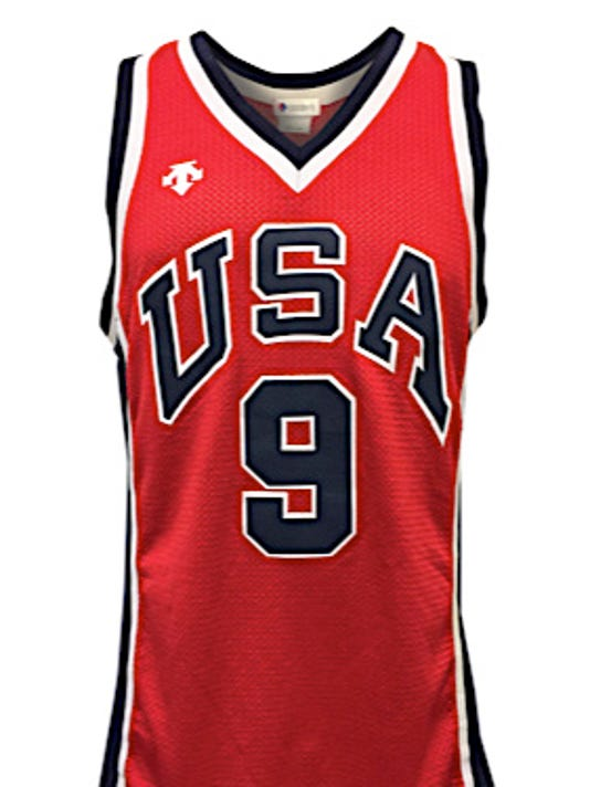 watch b2169 eb076 Jersey possibly worn by Michael Jordan sells for $273,904