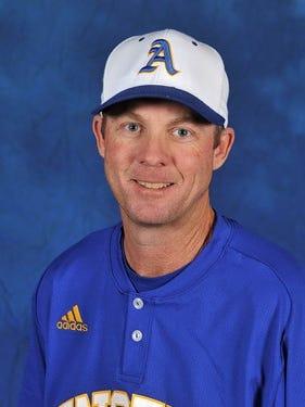 Angelo State University head baseball coach Kevin Brooks