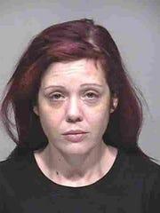 Suspect Jessica Evans.