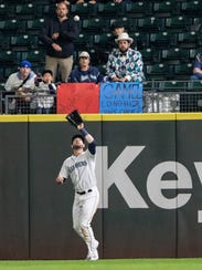 Mitch Haniger played well enough in center field that