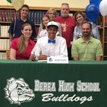 Berea High School senior Justin Leckie signed to continue his golf career at Southern Wesleyan University.