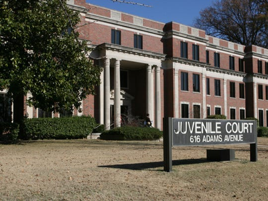 Juvenile Court of Memphis and Shelby County is located at 616 Adams Avenue. (Dave Darnell/The Commercial Appeal files)