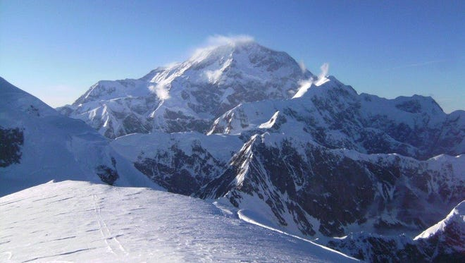 Scientists spent a month in Denali National Park in 2013 drilling ice cores from the summit plateau of Mt. Hunter. The ice cores showed the glaciers on Mt. Hunter are melting more now than at any time in the past 400 years.