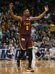 Veteran guard Donte Ingram is one of six players who can fuel Loyola's offense.