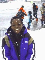 Ali Muhina went ice skating and cross country skiing