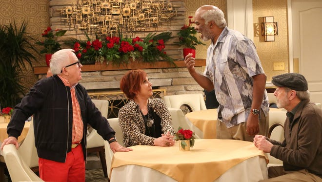 """Vicki Lawrence (""""Mama's Family"""") threatens the social standing of three friends (Leslie Jordan, David Alan Grier and Martin Mull) when she moves into their retirement community in """"The Cool Kids,"""" set to premiere this fall on Fox."""