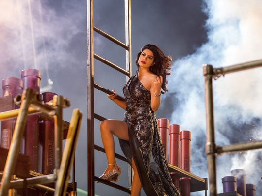 Priyanka Chopra works the action as Victoria Leeds