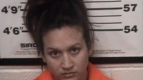 Alondra Gonzales, 18, was arrested on suspicion of aggravated battery with a deadly weapon.