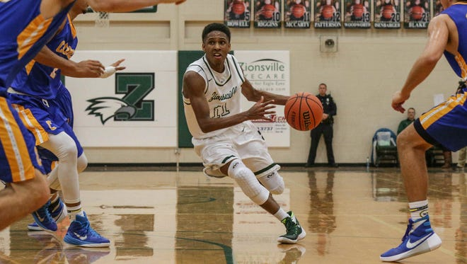 Isaiah Thompson will once again lead the way for Zionsville in 2016-17.
