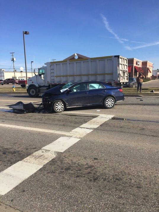 21st Street crash