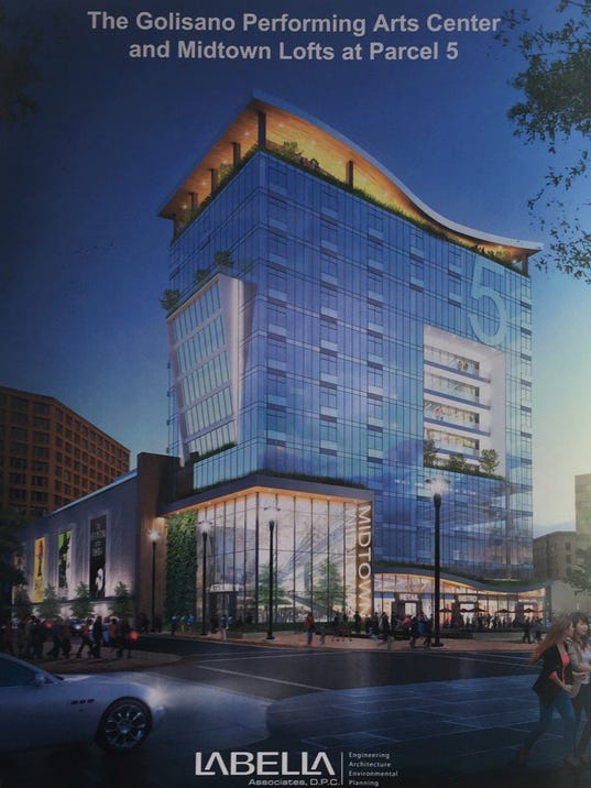Parcel 5 To Become Performing Arts Center Residential Tower