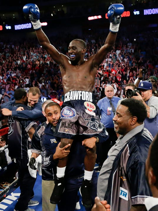 Image result for terence crawford undisputed