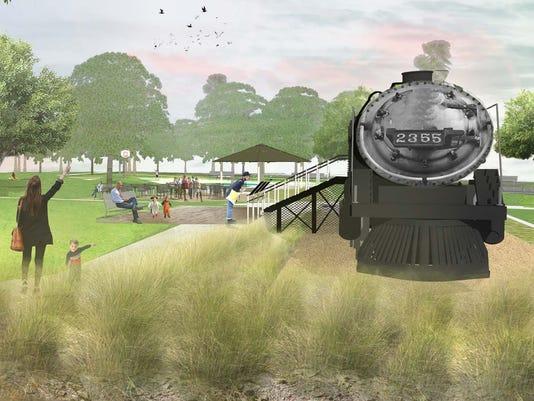 Pioneer Park train