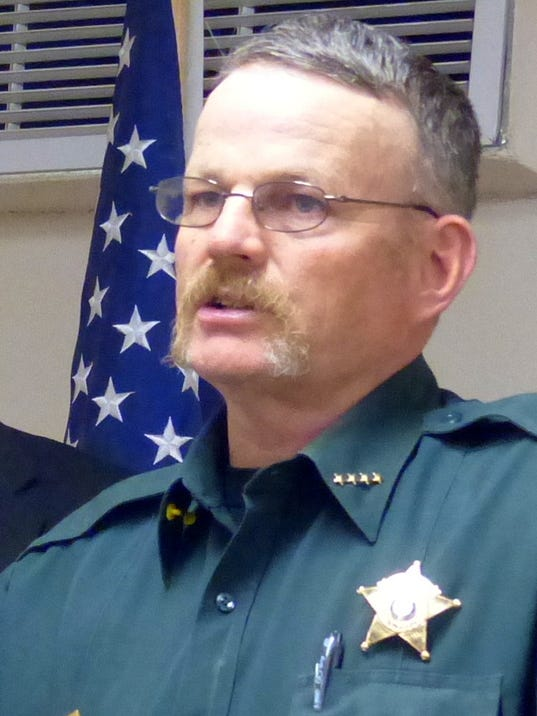 Lincoln County Sheriff Robert Shepperd