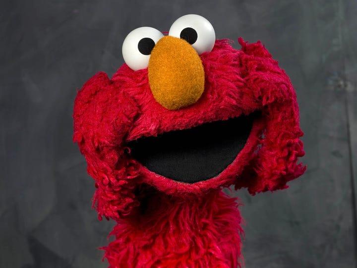 Elmo will educate children in Latin America and the