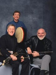 The Chieftains, featuring (from left) Paddy Moloney,