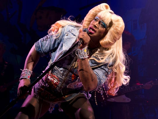 Taye Diggs plays Hedwig in 'Hedwig and the Angry Inch'