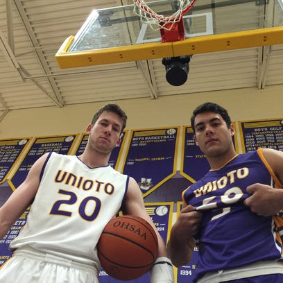 Unioto's Cole Cottrill suffered two broken wrists during