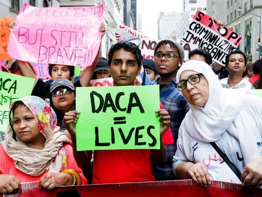 DACA rally Trump Tower