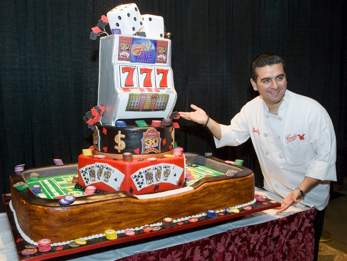 Cake Boss Decorating A Cake : Cake Boss ready to open in Marlton