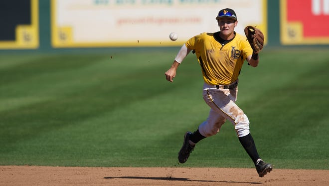 Garrett Hampson, formerly of Reno High School, will play in the NCAA Regional with Long Beach State this week.