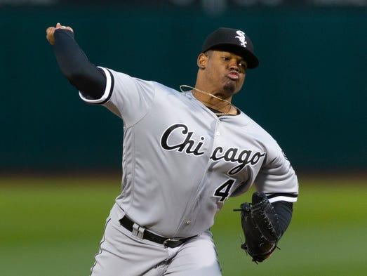 April 16: Reynaldo López, White Sox, 10 vs. Athletics