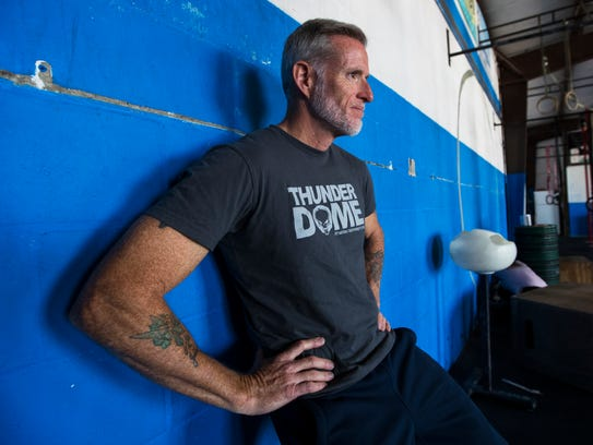 Cape Coral resident Jym Meers coaches at CrossFit in Cape Coral.