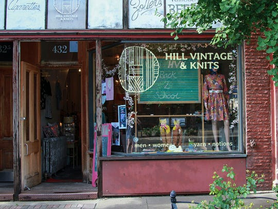 Hill Vintage & Knits.