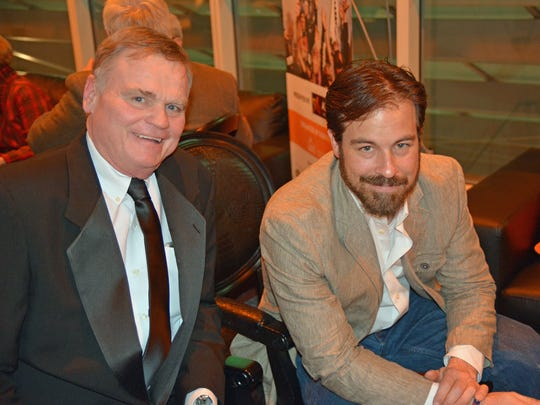 John Lawson and Kurt Yaeger  are pictured at last year's ReelAbilities fest.