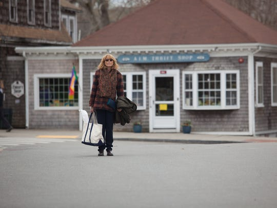 "Joan (Karen Allen) explores Cape Cod in ""Year by the"