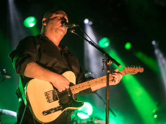 The Pixies perform at day one of the Lost Lake Festival