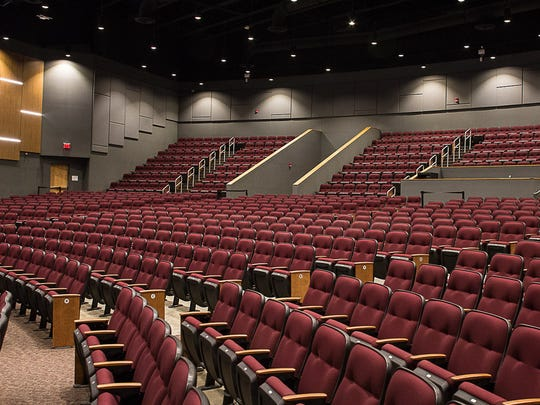 Collierville High School's new auditorium will seat 1000 people.