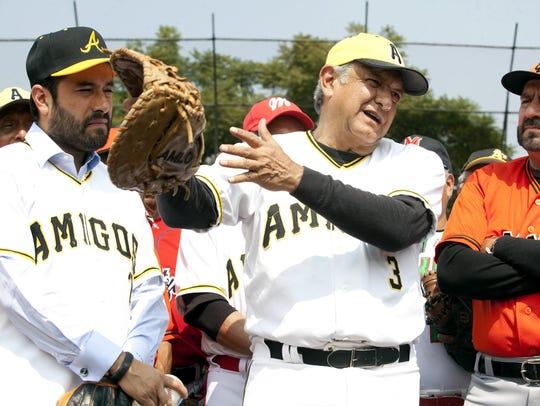 El presidente mexicano Andrés Manuel López Obrador es muy aficionado al beisbol.