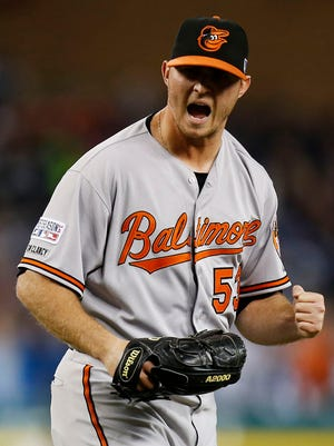 Zach Britton converted all of his 47 save opportunities.